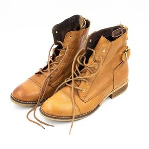 Aldo Leather Lace-up Boots